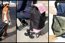 Хозяйственные сумки-тележки на колесиках