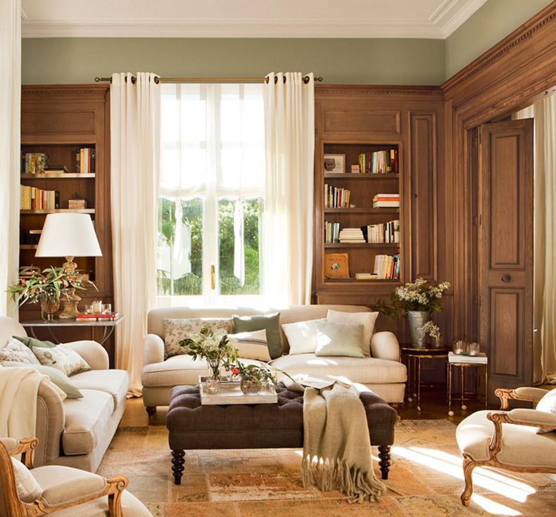 Белый цвет— изюминка шведского стиля в дизайне интерьера