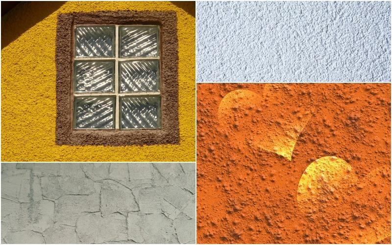 Фактурная штукатурка — рельефная отделка стен притягивающая взгляд