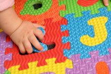 Мягкий пол для детских комнат: красиво, удобно и безопасно
