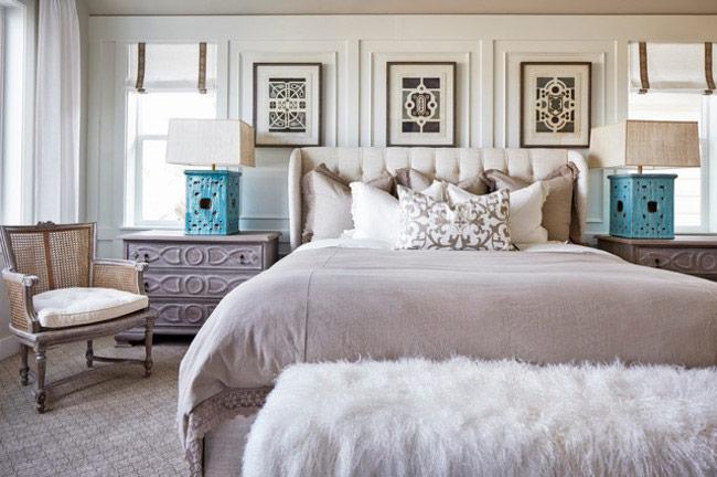 Модные оттенки для дизайна спальни в этом году