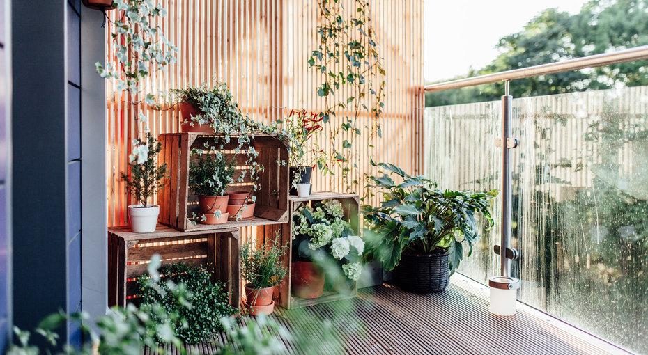 Как превратить незастекленный балкон в патио для летнего отдыха