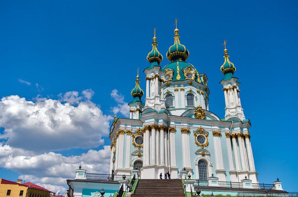Архитектура Андреевской церкви в Киеве
