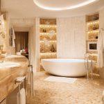 Как продумать интерьер ванной комнаты, правильно и грамотно организовать освещение в ванной?