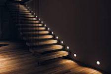 Лестничные подсветки – изящество и безопасность