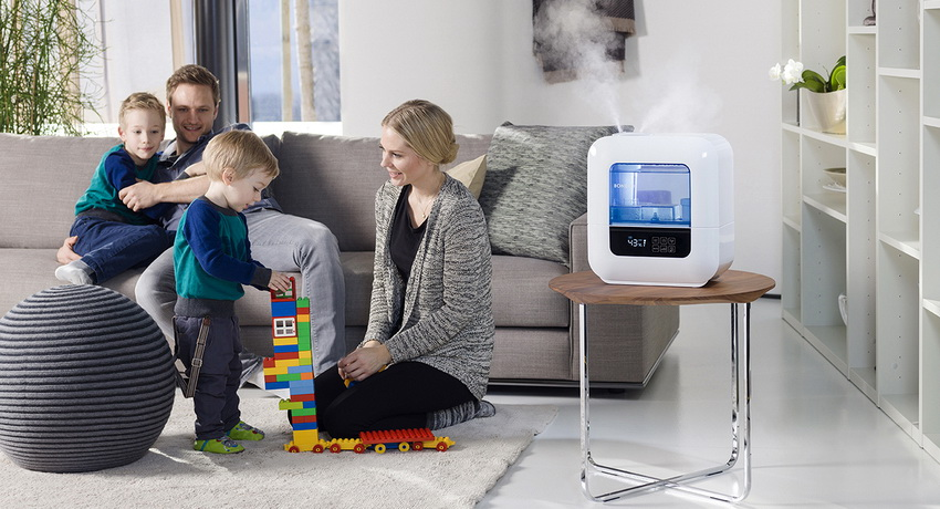 Как выбрать качественный увлажнитель воздуха
