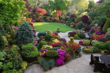 Красивая территория от компании AG garden design