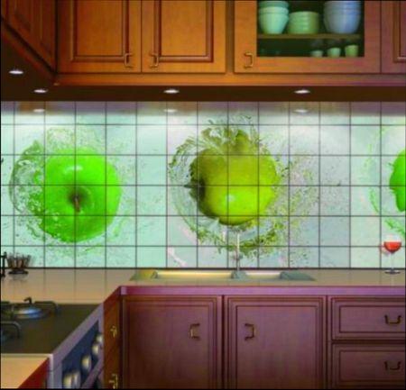 Как обновить фартук на кухне без демонтажа плитки