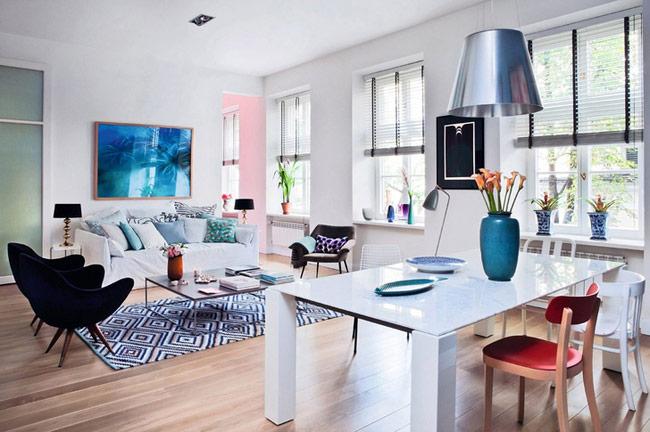 Идеи дизайна квартиры-студии
