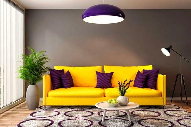 Ваш диван — яркий акцент в интерьере