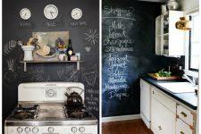 Чёрный цвет на кухне: тотальный или локальный?