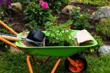 Современные садовые тачки