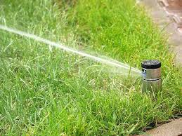 Орошение газонов автоматически