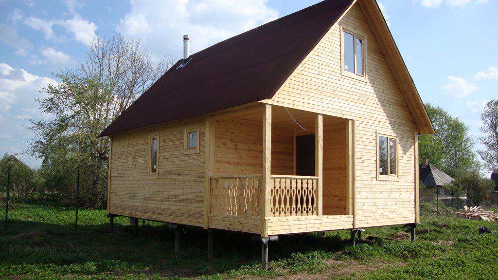 Строительство домов на винтовых сваях