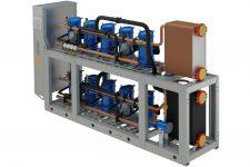 Система охлаждения с применением водяных чиллеров
