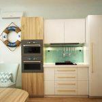 Кухня в морском стиле: реальный проект