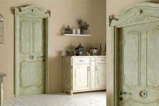 Межкомнатные двери в стиле Кантри