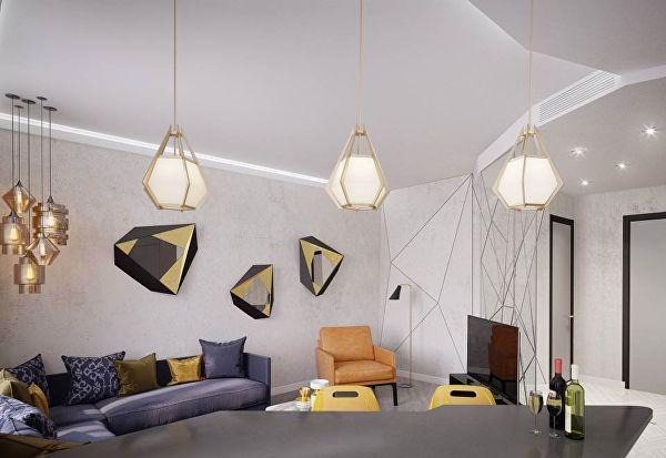 Как сделать маленькую квартиру больше с помощью света
