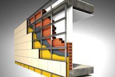 Особенности монтажа вентилируемых фасадов