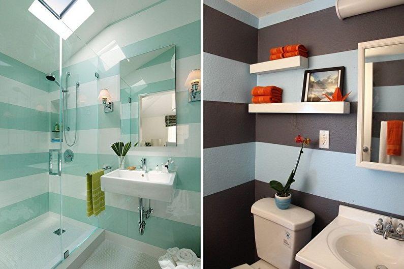 Дизайн ванной комнаты 2 кв. м