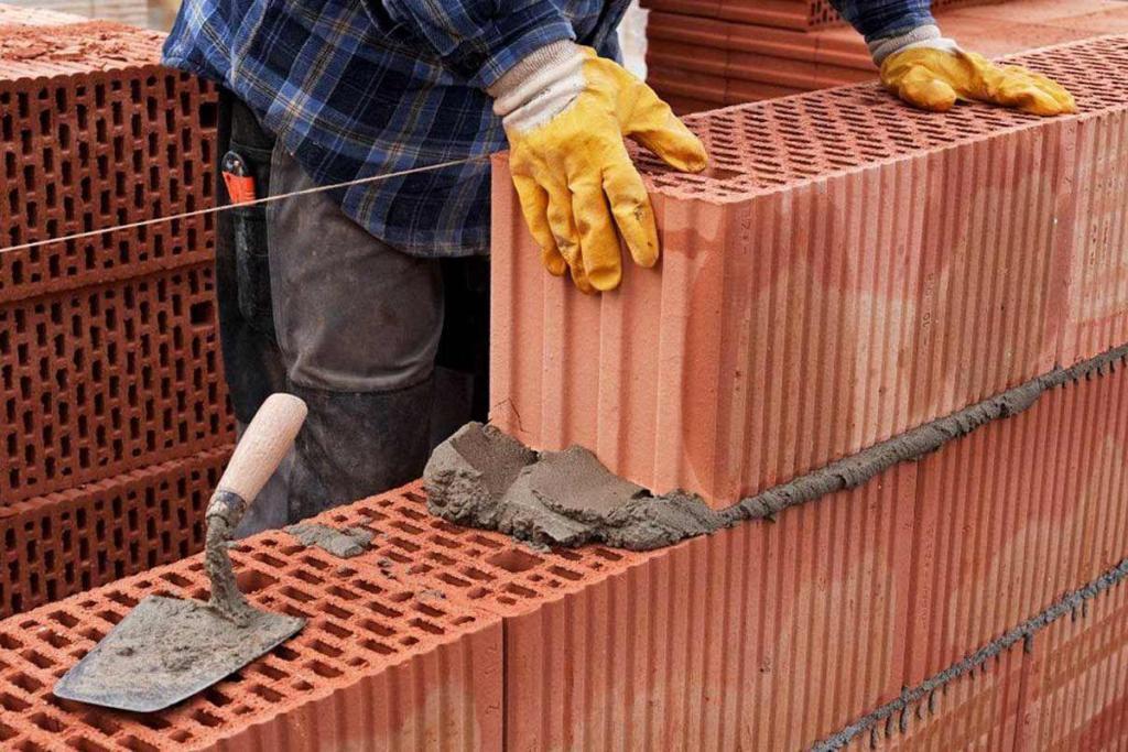 Керамический блок: особенности материала