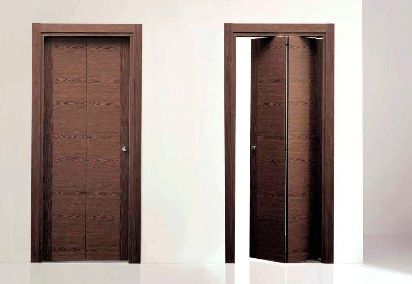 Складная межкомнатная дверь-книжка: оригинальный дизайн и экономия пространства