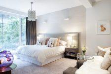 Дизайн спальни в стиле мастер-сьют