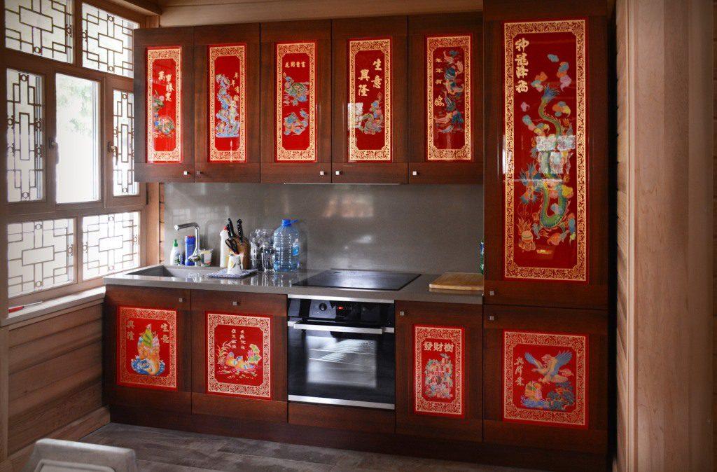 Кухня в китайском сттиле