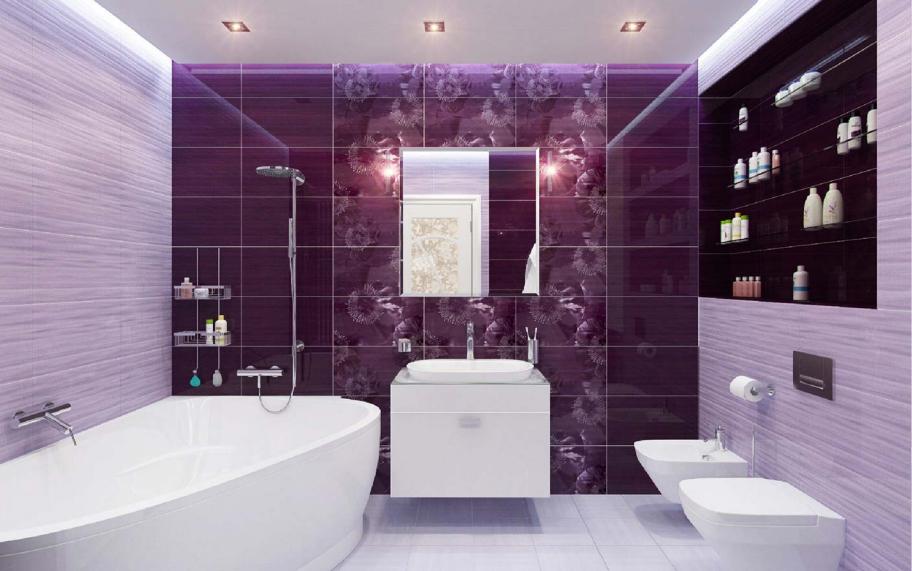 Красивая ванная комната: особенности