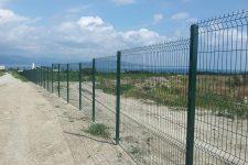 Секционный забор в сельском хозяйстве