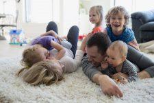 Квартира для семьи с четырьмя детьми