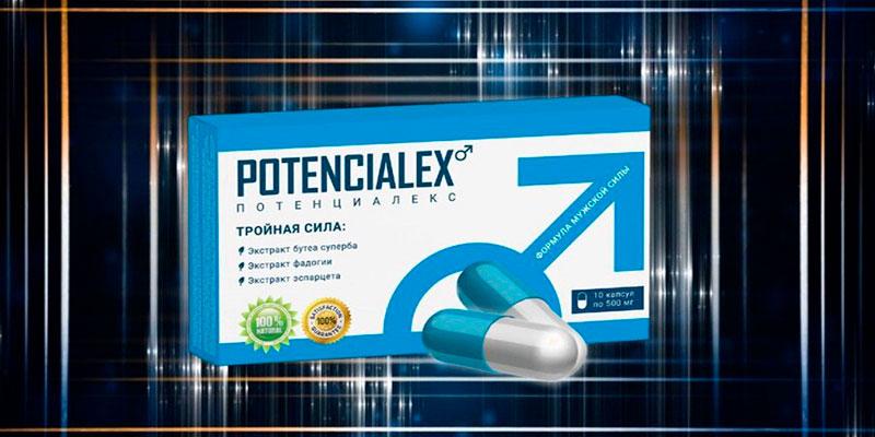Повышение мужской силы с помощью препарата Потенциалекса