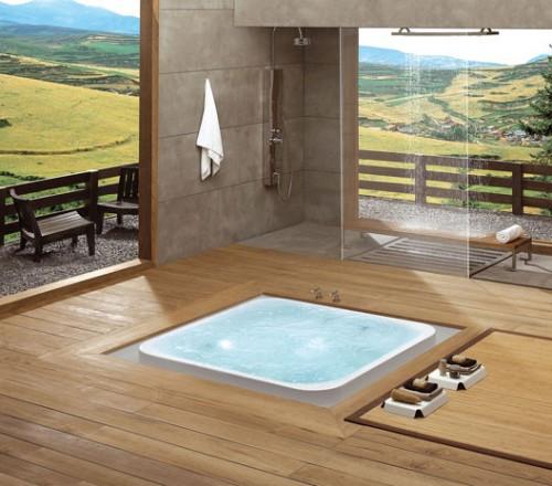 Офуро – ванная комната в японском стиле