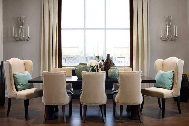 Канадский стиль для столовой: французский шарм и английские традиции