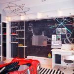 Грифельная стена в квартире: зачем, где, сколько стоит