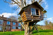 Дом на дереве – что это такое, где лучше всего строить и как крепить?