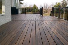 На какие основания можно укладывать деревянные террасные доски?