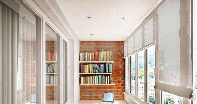 Потолок на лоджии — какие варианты отделки пользуются популярностью?