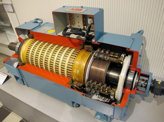 Система управления электродвигателем
