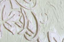 Декоративная шпатлевка. Создаем рельефный декор