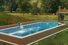 Грамотное обслуживание и уход за бассейном