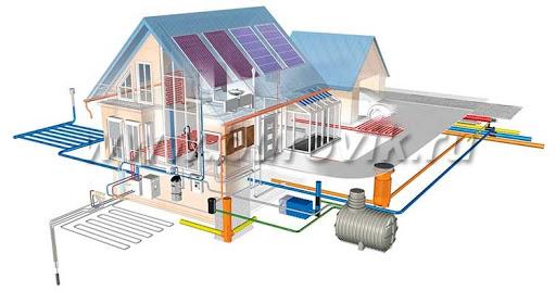 Отопления для дома. Проектирование, монтаж, обслуживание