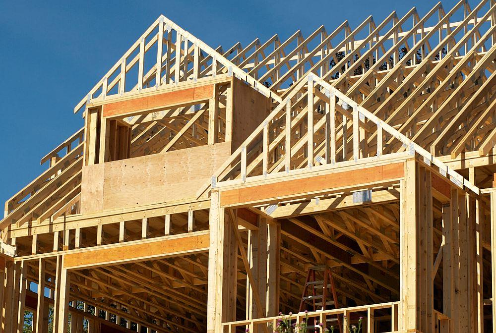 Строительство каркаса крыши