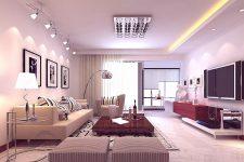 Как организовать освещение в гостиной?