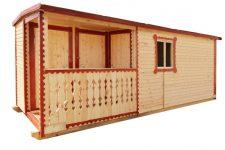 Производство деревянных бытовок