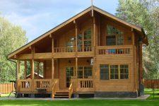 В чем привлекательность домов из бруса?
