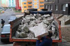 Вывоз мусора после строительства