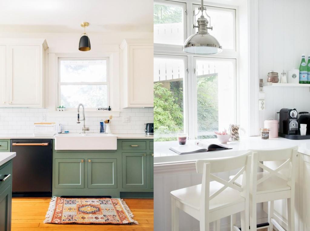 Окно на кухне: как им распорядиться