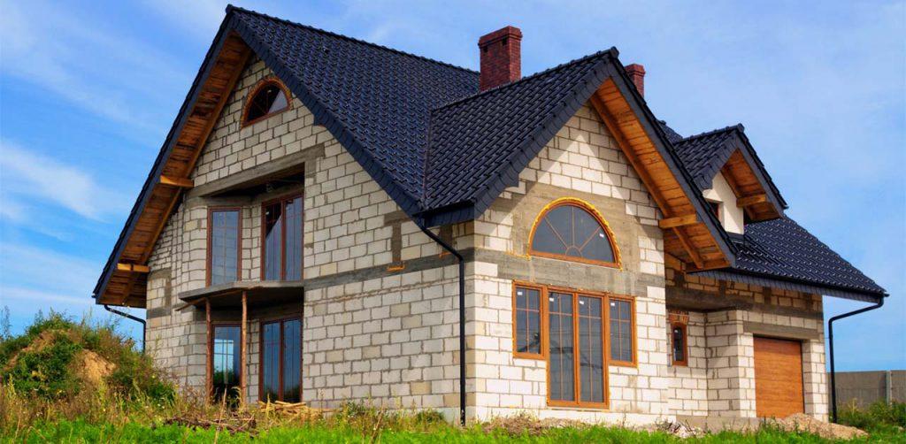 Достоинства домов из пенобетона