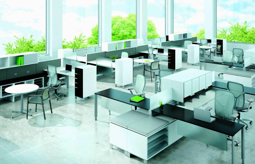 О дизайне офисов, форматах и проектировании